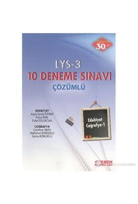 Esen LYS-3 10 Deneme Sınavı [Edebiyat-Coğrafya 1] (Çözümlü)
