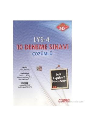 Esen LYS-4 10 Deneme Sınavı [Tarih-Coğrafya 2-Gelsefe Grubu] (Çözümlü)
