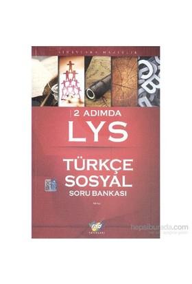 FDD 2 Adımda LYS Türkçe-Sosyal Soru Bankası