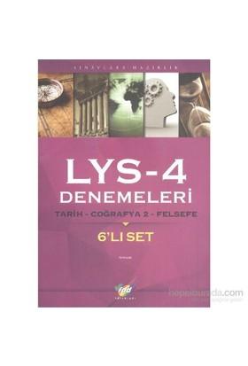 FDD LYS 4 Denemeleri Tarih, Coğrafya 2, Felsefe (6'lı Set)