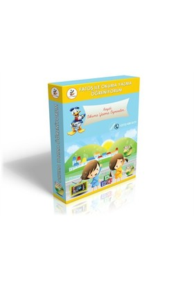 Fatoş İle Okuma Yazma Öğreniyorum Görüntülü DVD Seti