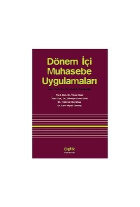 Dönem İçi Muhasebe Uygulamaları-Mustafa Çanakçıoğlu