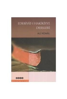 Edebiyat-I Hakikiyye Dersleri