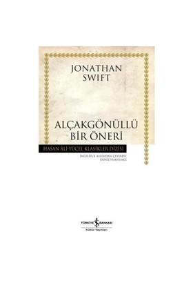 Alçakgönüllü Bir Öneri-Jonathan Swift