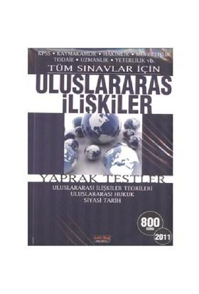 Savaş Yayınları Tüm Sınavlar Uluslararsı İlişkiler Yaprak Test 2011