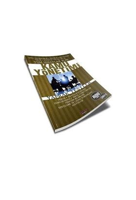Savaş Yayınları Tüm Sınavlar Kamu Yönetimi Yaprak Test 2011
