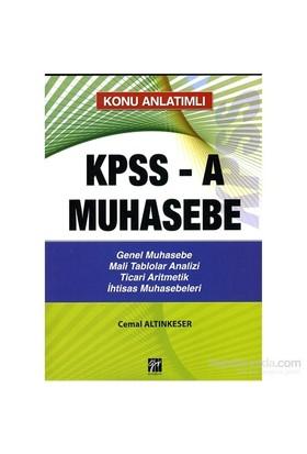 Kpss-A Muhasebe Konu Analtımlı-Cemal Altınkeser