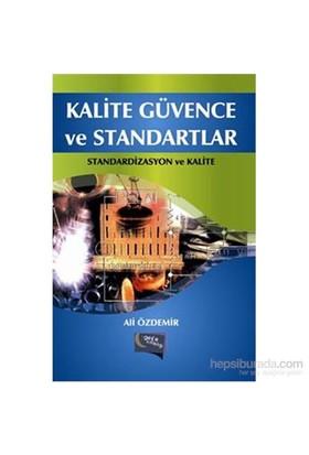 Kalite Güvence Ve Standartlar-Ali Özdemir