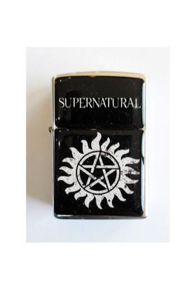 Köstebek Supernaturel - Logo Çakmak