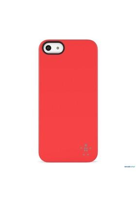 Belkin Shield iPhone 5/5s Sert Kılıf Kırmızı - F8W127vfC03