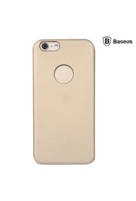 Baseus Thin Case (1mm) iPhone 6 Arka Kapak - Altın (Suni Deri)