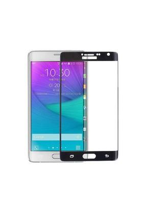 Cep Market Samsung Galaxy Note Edge Cam Temperli Kavisli - Siyah
