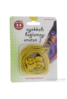 Magic Lock Elastik 15A1 Bağcık