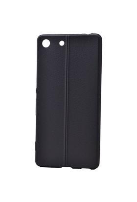 Lopard Sony Xperia Z5 Premium Kılıf Ribbon İnce Silikon Arka Kapak Siyah