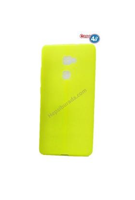 Case 4U Huawei Mate S Desenli Silikon Kılıf Fosfor Yeşili**