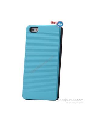 Case 4U Huawei P8 Lite You Koruyucu Kapak Mavi