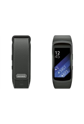 Samsung Gear Fit 2 Dark Gray (Android ve iPhone Uyumlu)
