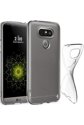 CoverZone Lg G5 Kılıf 0.3 Mm Ultra İnce Silikon Şeffaf