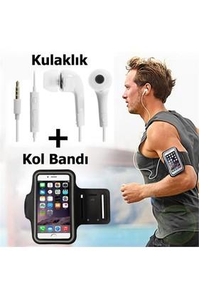 Exclusive Phone Case Lenovo P1m Kol Bandı Spor Ve Koşu + Kulaklık