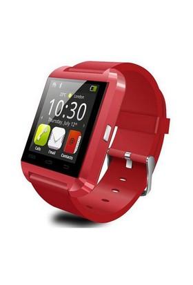 Berkev Akıllı Saat U8 Smart Watch Türkçe - Siyah