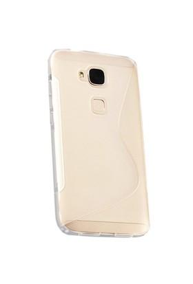 CoverZone Huawei G7 Plus Kılıf Sline Dizayn Silikon Şeffaf