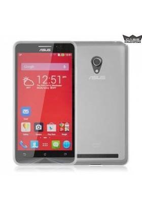 CaseCrown Asus Zenfone 6 Ultra İnce Silikon Kılıf Füme