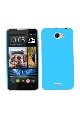 Microsonic Premium Slim Htc Desire 516 Kılıf Mavi