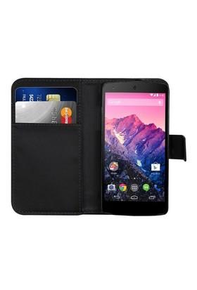 Microsonic Cüzdanlı Deri Kılıf - Lg Nexus 5 - Siyah