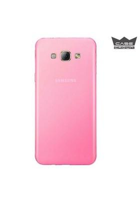 CaseCrown Samsung Galaxy A8 Ultra İnce Silikon Kılıf Pembe