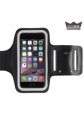 CaseCrown Apple iPhone 6/6s Kol Bandı Siyah