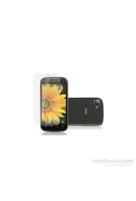 Case 4U ZTE Grand X Ultra Şeffaf Ekran Koruyucu (Parmak İzi Bırakmaz)