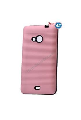 Case 4U Microsoft Lumia 535 You Koruyucu Kapak Rose Gold