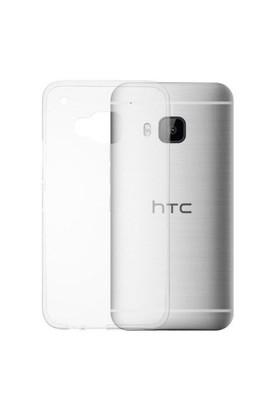 Ebox HTC One M9 Şeffaf İnce Silikon Arka Kapak - EBX-2380