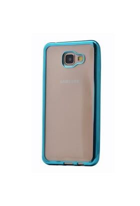 Cep Market Samsung Galaxy A9 2016 Kılıf A910 Silikon Lazer - Turkuaz