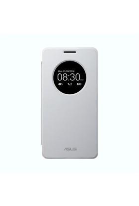 Asus PF-01 Zenfone 5 Beyaz Kapaklı Kılıf - 90XB00RA-BSL0L0