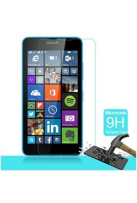 Microsonic Microsoft Lumia 640 Temperli Cam Ekran Koruyucu Film