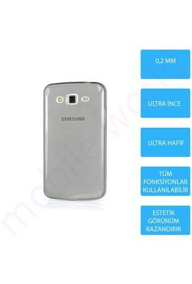Mobile World Samsung Galaxy Grand Neo Silikon + Cam Ekran Koruyucu + Kalem Seti Siyah - 2796