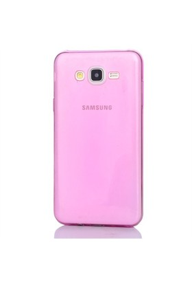 Gpack Samsung Galaxy Grand Max Kılıf 0.2Mm Pembe Silikon