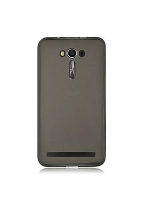 Gpack Asus Zenfone 2 Kılıf 0.2Mm Antrasit Silikon