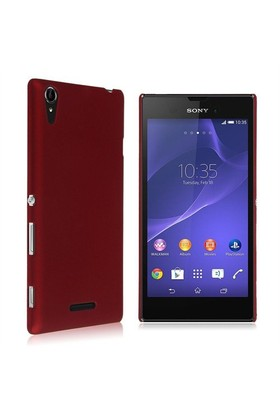 Microsonic Premium Slim Sony Xperia T3 Kılıf Kırmızı