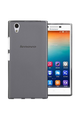 Microsonic Lenovo P70 Kılıf Transparent Soft Siyah