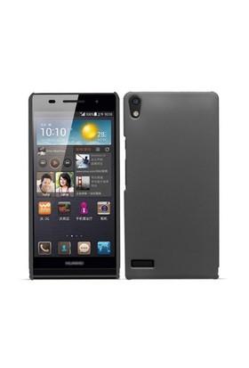Microsonic Premium Slim Huawei Ascend P6 Kılıf Siyah