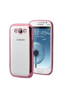 Microsonic Samsung Galaxy Grand İ9082 Kılıf Flexi Delux Rose