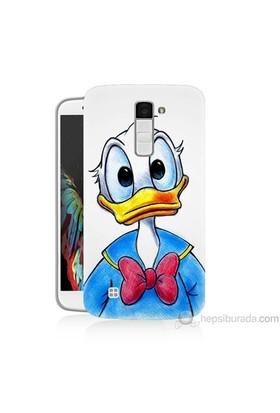Teknomeg Lg K8 Kapak Kılıf Donald Duck Baskılı Silikon