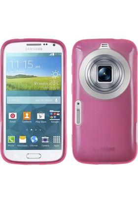 Microsonic Transparent Soft Samsung Galaxy K Zoom Kılıf Pembe