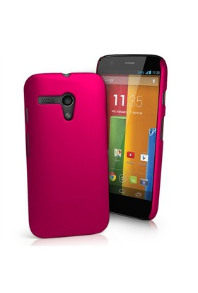 Microsonic Premium Slim Kılıf Motorola Moto G Pembe