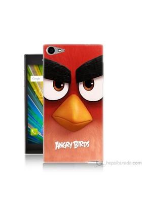Teknomeg Casper Via V9 Kapak Kılıf Angry Birds Baskılı Silikon