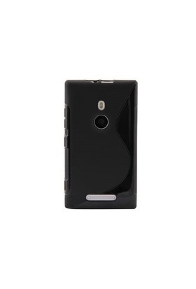 Vacca Nokia Nokia Lumia 925 Medium Hard Case Wave Black Kapak