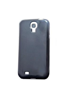 Vacca Samsung Galaxy S4 Silikon Kilif - S-Line Black - Siyah Kapak