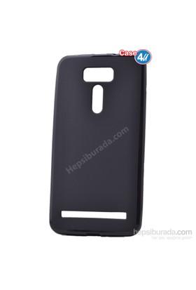 Case 4U Asus Zenfone 2 Laser Ze601kl Ultra İnce Silikon Kılıf Siyah